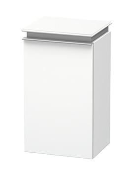 Duravit Darling New 400 x 340mm White Matt Left Hand Semi Tall Cabinet