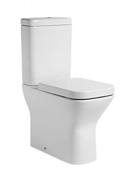 Tavistock Structure Comfort Height WC With Cistern And Soft Close Seat
