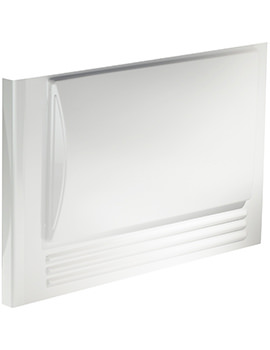 Twyford 800mm Omnifit Bath End Panel White