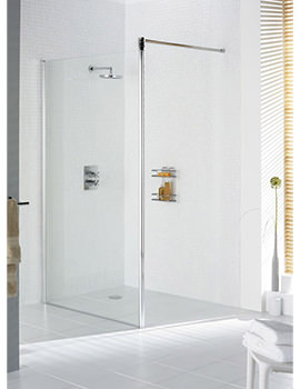 Lakes Classic Walk In Shower Screen 700mm