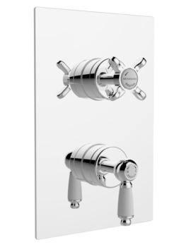 Bristan Renaissance Recessed Thermostatic Dual Control Shower Valve