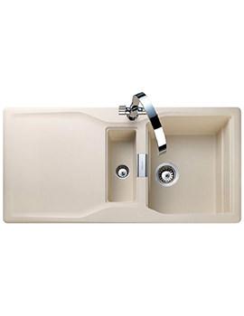 Rangemaster Magma 1.5 Bowl Igneous Granite Kitchen Sink Stone Finish