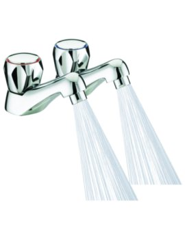 Bristan Spray Pair Of Basin Taps