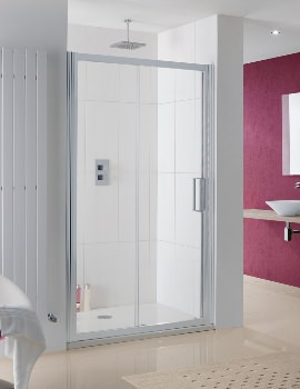 Lakes Coastline Talsi 1500 x 2000mm Slider Shower Door