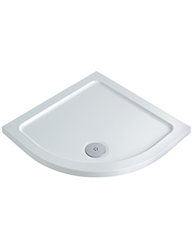 Twyford 1000 x 1000mm Flat Top Quadrant Shower Tray