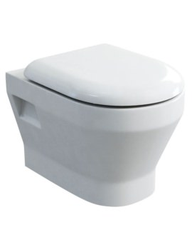 Britton Curve S30 Wall Hung WC With Carbamide Soft Close Seat