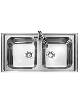 Rangemaster Manhattan 2.0 Bowl Stainless Steel Kitchen Sink