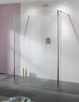 Lakes Coastline Riviera Walk In Shower Panel Only