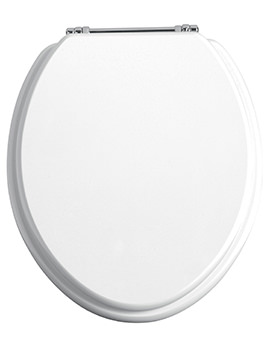 Heritage Soft Close Thermoset Plastic WC Seat And Cover