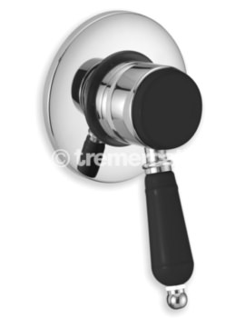 Tre Mercati Victoria Nero Concealed Manual Shower Valve