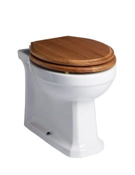 Tavistock Vitoria Floor Mounted Back To Wall WC Pan