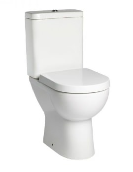 Tavistock Ion Comfort Height WC Pan With Cistern And Soft Close Seat