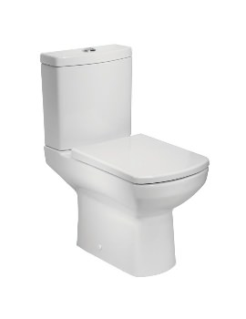 Tavistock Vibe Open Back Close Coupled WC With Cistern And Soft Close Seat