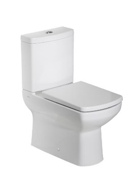 Tavistock Vibe Flush Fitting Close Coupled WC Pan With Cistern And Seat