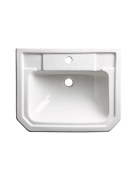 Tavistock Vitoria 550mm Semi-Countertop Basin