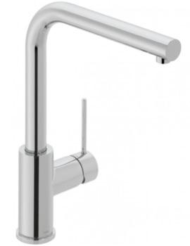 Vado Camber Single Lever Mono Sink Mixer Tap - Deck-Mounted