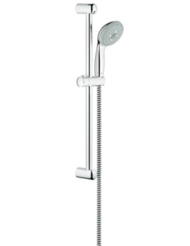 Grohe New Tempesta 100 Shower Rail Set With 3 Spray Pattern