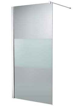 Ideal Standard Synergy 1200 x 2000mm Modesty Wetroom Shower Panel