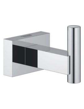 Grohe Essentials Cube Chrome Robe Hook