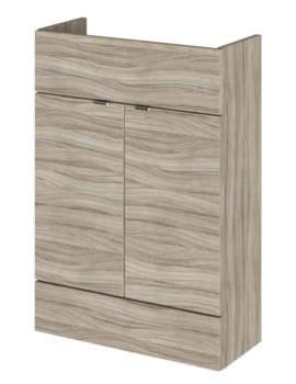 Hudson Reed Compact 600 x 255mm Driftwood Vanity Unit