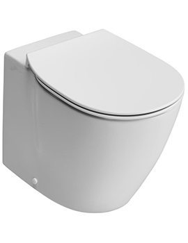Ideal Standard Concept 550mm Aquablade Back-To-Wall WC Pan