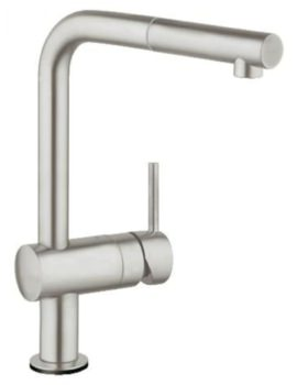 Grohe Minta Touch Electronic Single Lever Kitchen Sink Mixer Tap Supersteel