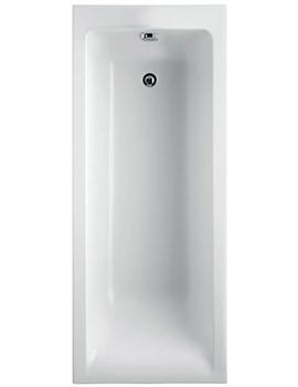 Ideal Standard Concept 1700 x 750mm No Tap Holes Idealform Plus Bath