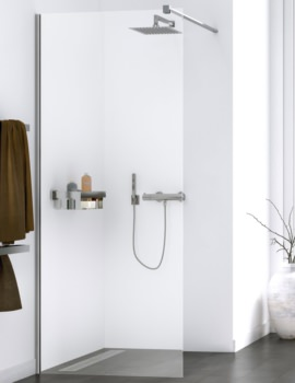 Aqualux Origin Walk In Shower Panel