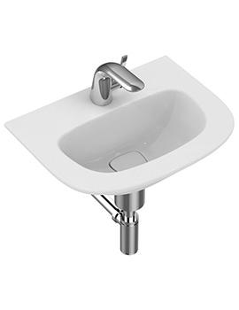 Ideal Standard Dea 500mm 1 Tap Hole Handrinse Washbasin