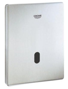 Grohe Tectron Skate Infra-Red Electronic Flush Plate for Urinal Stainless Steel