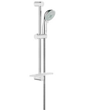 Grohe New Tempesta Rustic 4 Spray Shower Rail Set