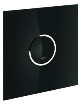 Grohe Ondus Digitecture Light WC Wall Plate Velvet Black
