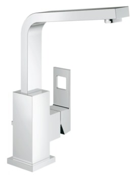 Grohe Eurocube Single Lever L-Size Basin Mixer Tap