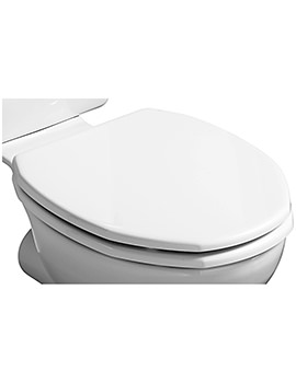 Ideal Standard Plaza White WC Toilet Seat And Cover