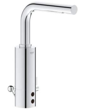 Grohe Essence E Infra Red Deck Mounted Electronic Basin Mixer Tap