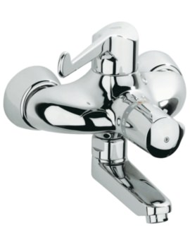Grohe Grohtherm Ergomix Thermostat Wall Mounted Basin Mixer Tap