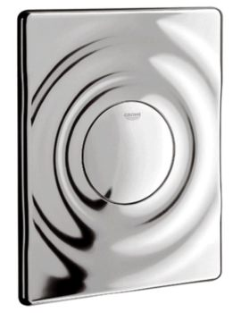 Grohe Surf Wall Mounted Chrome Flush Plate
