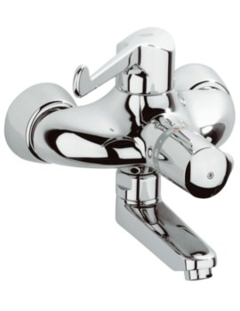 Grohe Grohtherm Ergomix Thermostatic Wall Mounted Basin Mixer Tap