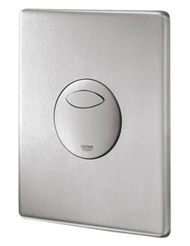 Grohe Skate Wall Mounted Flush Plate Stainless Steel