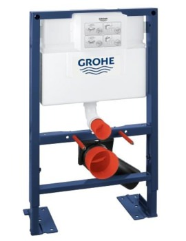 Grohe Rapid SL Set For WC With Flushing Cistern