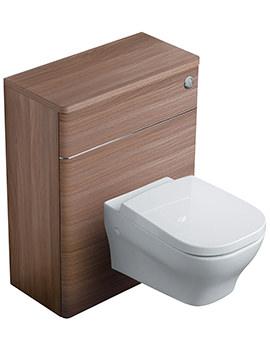 Ideal Standard Softmood Walnut 65cm WC Unit With Cistern