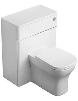 Ideal Standard Softmood Gloss White 65cm WC Unit With Cistern