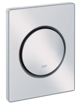 Grohe Nova Cosmopolitan Actuation Flush Plate Alpine White