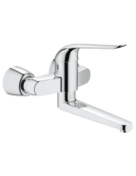 Grohe Euroeco Special Wall Mounted Basin Mixer Tap
