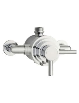 Hudson Reed Tec Thermostatic Dual Exposed Shower Valve