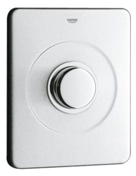 Grohe Wall Mounted Flush Plate Stainless Steel