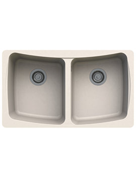 Astracast Malham 828 x 486mm ROK Granite Sahara Beige 2B Undermount Sink