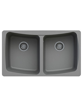 Astracast Malham 828 x 486mm ROK Granite Graphite Grey 2B Undermount Sink