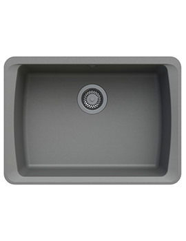 Astracast Barden 634 x 457mm ROK Granite Graphite Grey 1B Undermount Sink