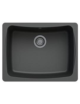 Astracast Malham 624 x 484mm ROK Granite Graphite Grey 1B Undermount Sink